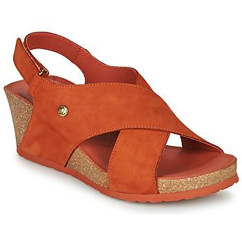 Buty Damskie Sandały Panama Jack VALESKA Brązowy