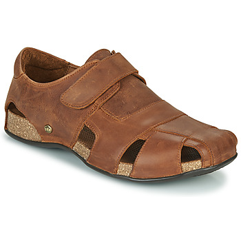 Buty Męskie Sandały Panama Jack FLETCHER Brązowy