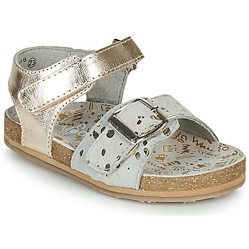 Buty Dziewczynka Sandały Mod'8 KORALY Złoty