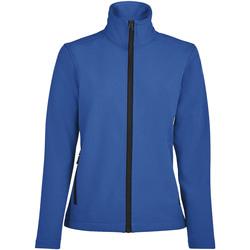 tekstylia Damskie Bluzy dresowe Sols RACE WOMEN SOFTSHELL Azul