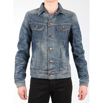 tekstylia Męskie Kurtki / Blezery Lee Kurtka jeansowa  Rider Jacket L88842RT granatowy