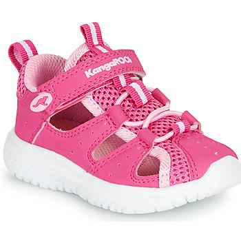 Buty Dziewczynka Sandały Kangaroos KI-ROCK LITE EV Różowy