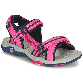 Buty Dziewczynka Sandały Kangaroos K-LENI Różowy