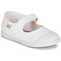 Buty Dziewczynka Baleriny Citrouille et Compagnie APSUT Biały