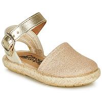 Buty Dziewczynka Sandały Citrouille et Compagnie MIOSOTIS Złoty