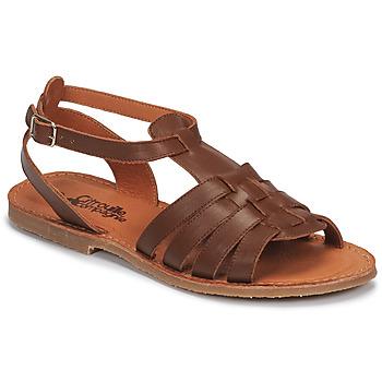 Buty Dziewczynka Sandały Citrouille et Compagnie MINIBOU Brązowy