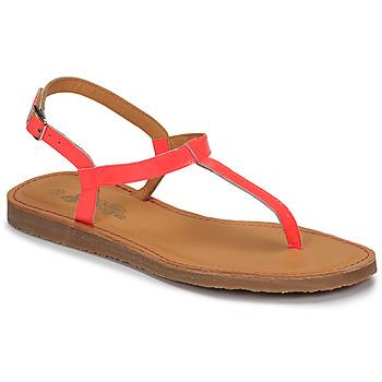 Buty Dziewczynka Japonki Citrouille et Compagnie MIZZA Różowy / Fluo