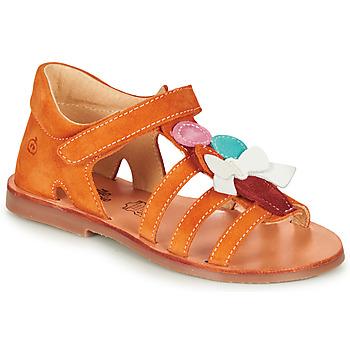 Buty Dziewczynka Sandały Citrouille et Compagnie MIETTE Pomarańczowy