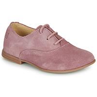 Buty Dziewczynka Derby Citrouille et Compagnie MISTI Różowy