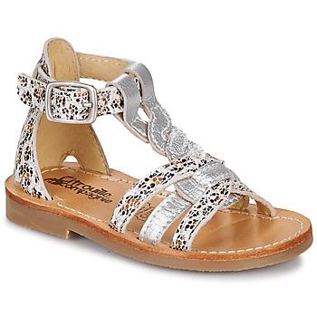 Buty Dziewczynka Sandały Citrouille et Compagnie GITANOLO Leopard