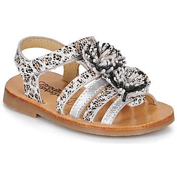 Buty Dziewczynka Sandały Citrouille et Compagnie MALINETTE Leopard