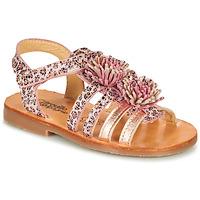 Buty Dziewczynka Sandały Citrouille et Compagnie MARINAS Różowy