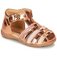 Buty Dziewczynka Sandały Citrouille et Compagnie RINE Różowy / Metal