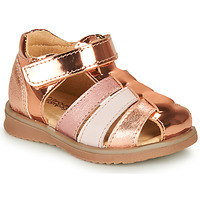 Buty Dziewczynka Sandały Citrouille et Compagnie FRINOUI Brąz / Różowy