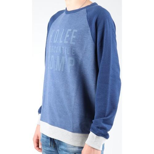 Lee Bluza Graphic Crew Sws L80odelr Niebieski - Tekstylia Polary Meskie 20230 Najniższa Cena