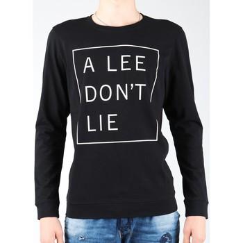 tekstylia Męskie T-shirty z długim rękawem Lee T-shirt  Don`t Lie Tee LS L65VEQ01 czarny, biały