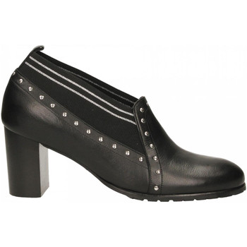 Buty Damskie Derby Essex VITELLO nero-argento