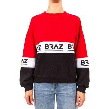 tekstylia Damskie Bluzy Braz 120972TSH Czerwony
