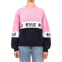 tekstylia Damskie Bluzy Braz 120972TSH Różowy