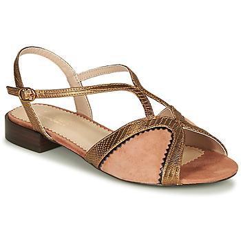 Buty Damskie Sandały André LA TRAPEZISTE Różowy