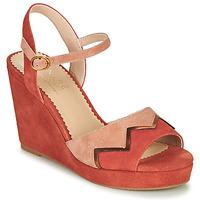 Buty Damskie Sandały André LA JONGLEUSE Różowy