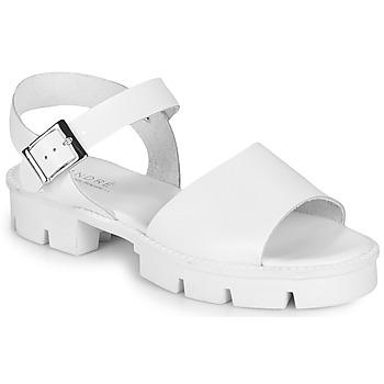 Buty Damskie Sandały André ABRICOT Biały