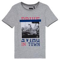 tekstylia Dziewczynka T-shirty z krótkim rękawem Ikks AMELIE Szary / Chiné