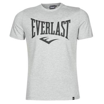 tekstylia Męskie T-shirty z krótkim rękawem Everlast EVL LOUIS SS TS Szary