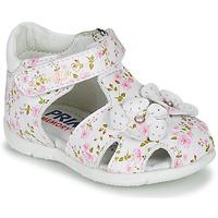 Buty Dziewczynka Sandały Primigi 5401300 Biały / Różowy
