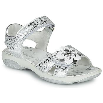 Buty Dziewczynka Sandały Primigi 5383533 Srebrny