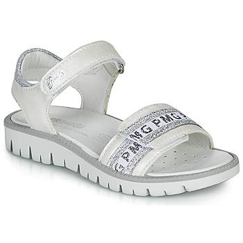 Buty Dziewczynka Sandały Primigi 5386700 Biały / Srebrny