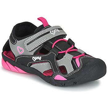 Buty Dziewczynka Sandały sportowe Primigi 5460011 Czarny / Różowy