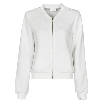 tekstylia Damskie Bluzy Moony Mood CHUCK Biały