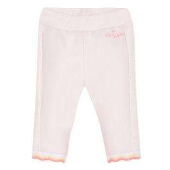 tekstylia Dziewczynka Spodnie z pięcioma kieszeniami Lili Gaufrette NOLIS Różowy