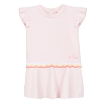 tekstylia Dziewczynka Sukienki krótkie Lili Gaufrette NARITTE Różowy