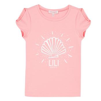 tekstylia Dziewczynka T-shirty z krótkim rękawem Lili Gaufrette KATIA Blush