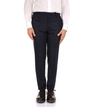 tekstylia Męskie Spodnie od garnituru  Incotex 1AT091 1721T Niebieski
