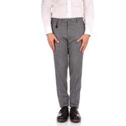 tekstylia Męskie Spodnie od garnituru  Incotex 1AT091 1721T Szary