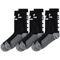 Dodatki Dziecko Skarpety Erima Lot de 3 paires de chaussettes  Classic 5-C noir/blanc