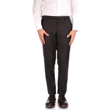 tekstylia Męskie Spodnie od garnituru  Incotex 1AT030 1010T Brązowy
