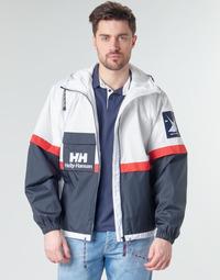 tekstylia Męskie Kurtki krótkie Helly Hansen RAIN Biały / Marine