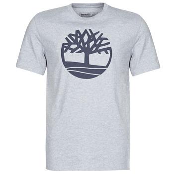 tekstylia Męskie T-shirty z krótkim rękawem Timberland SS KENNEBEC RIVER BRAND TREE TEE Szary