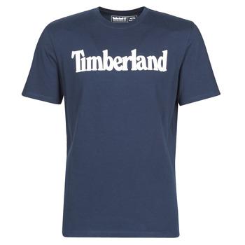 tekstylia Męskie T-shirty z krótkim rękawem Timberland SS KENNEBEC RIVER BRAND LINEAR TEE Marine