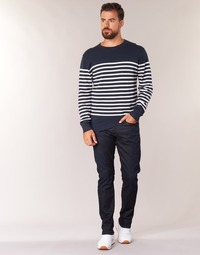 tekstylia Męskie Jeansy straight leg G-Star Raw 3301 TAPERED Stretch / Denim / Dk