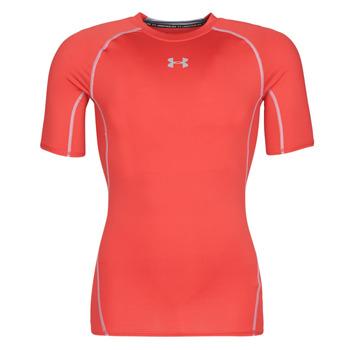 tekstylia Męskie T-shirty z krótkim rękawem Under Armour UA HEATGEAR ARMOUR Czerwony