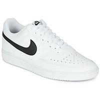 Buty Męskie Trampki niskie Nike COURT VISION LOW Biały / Czarny