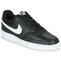 Buty Damskie Trampki niskie Nike COURT VISION LOW Czarny / Biały