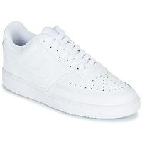 Buty Damskie Trampki niskie Nike COURT VISION LOW Biały