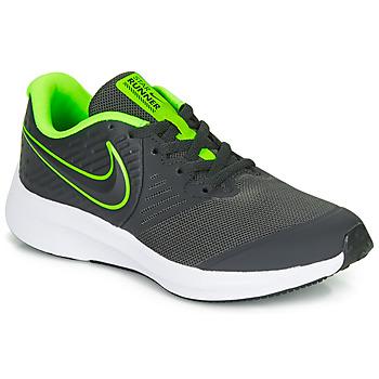 Buty Chłopiec Multisport Nike STAR RUNNER 2 GS Czarny / Zielony