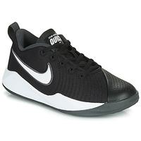 Buty Dziecko Multisport Nike TEAM HUSTLE QUICK 2 GS Czarny / Biały